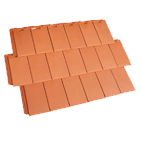 Image of the nullarbor styled premium monier roof tile on a transparent background