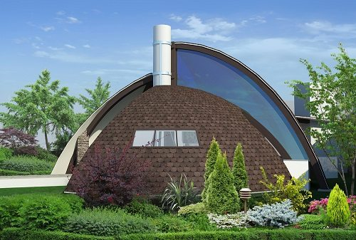 Futuristic inspired home